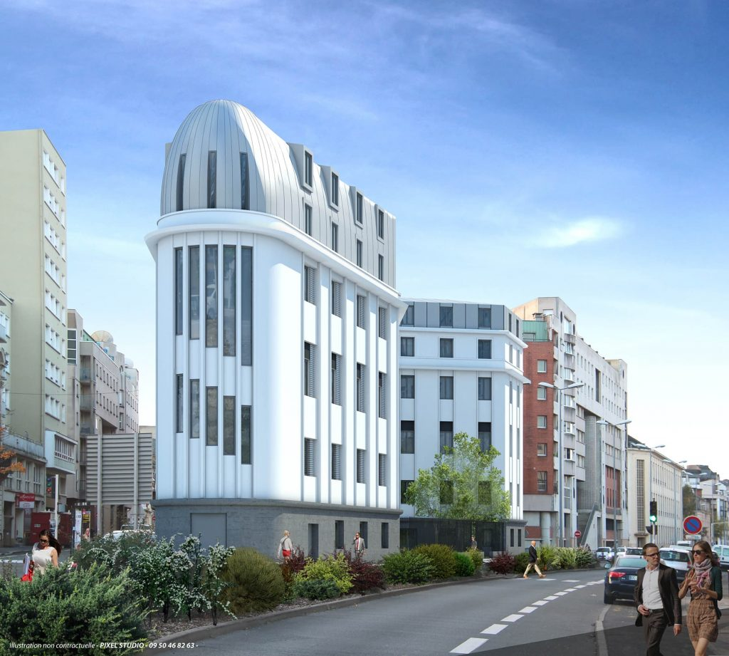 Bâtiment rue Courboulay
