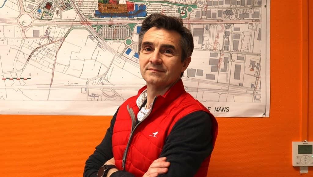 Eric Brillant, Directeur de Auchan Le Mans
