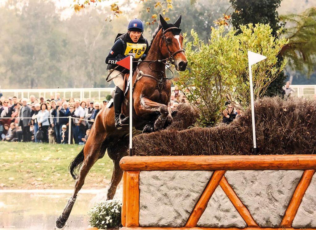 Philippe Perrin et son cheval Taichac de Tremas au 4 de Pau.