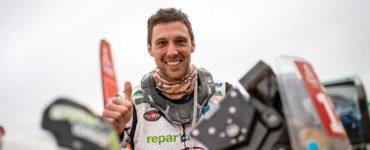 Romain Leloup, un motard Sarthois sur le Dakar
