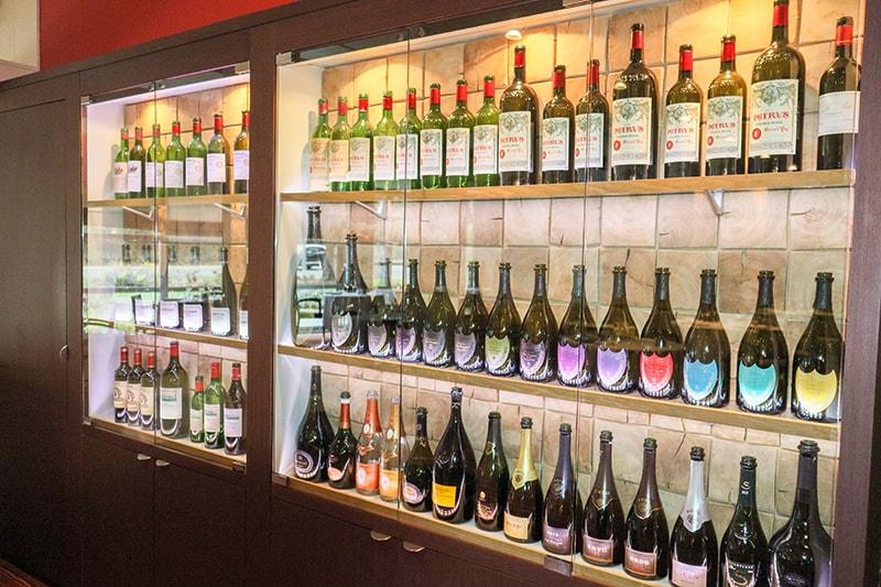 Une bonne table c'est aussi de bonne bouteilles.